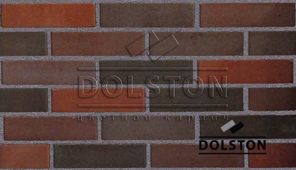 Образец кирпича кирпич облицовочный COLONY (красный)